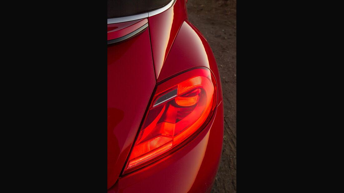 VW Beetle Cabriolet, Heckleuchte