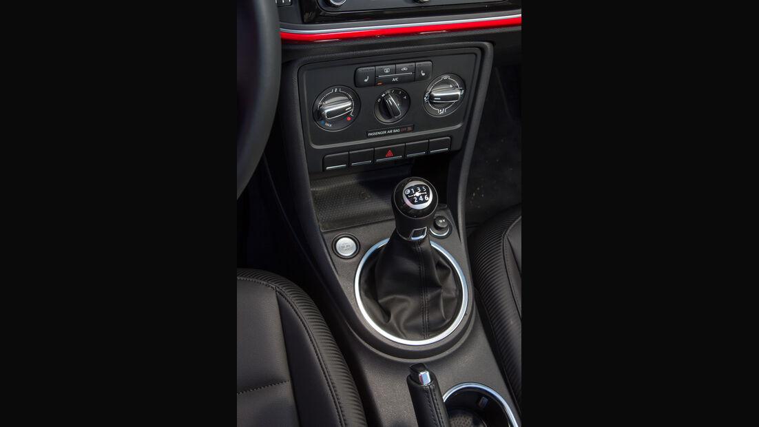 VW Beetle Cabriolet, Schalthebel, Schaltknauf