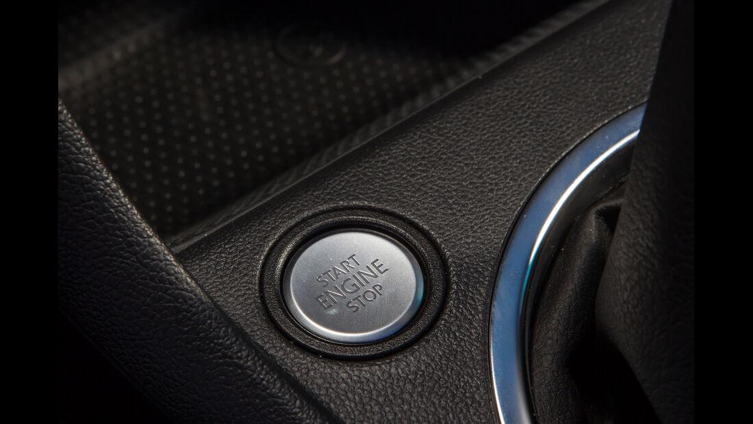 VW Beetle Cabriolet, Startknopf
