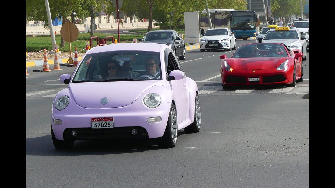 VW Beetle - Carspotting - GP Abu Dhabi 2018