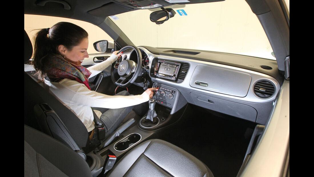 VW Beetle, Cockpit