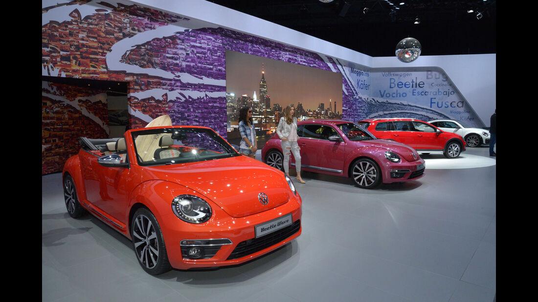 VW Beetle Concept Cars - New York Auto Show 2015