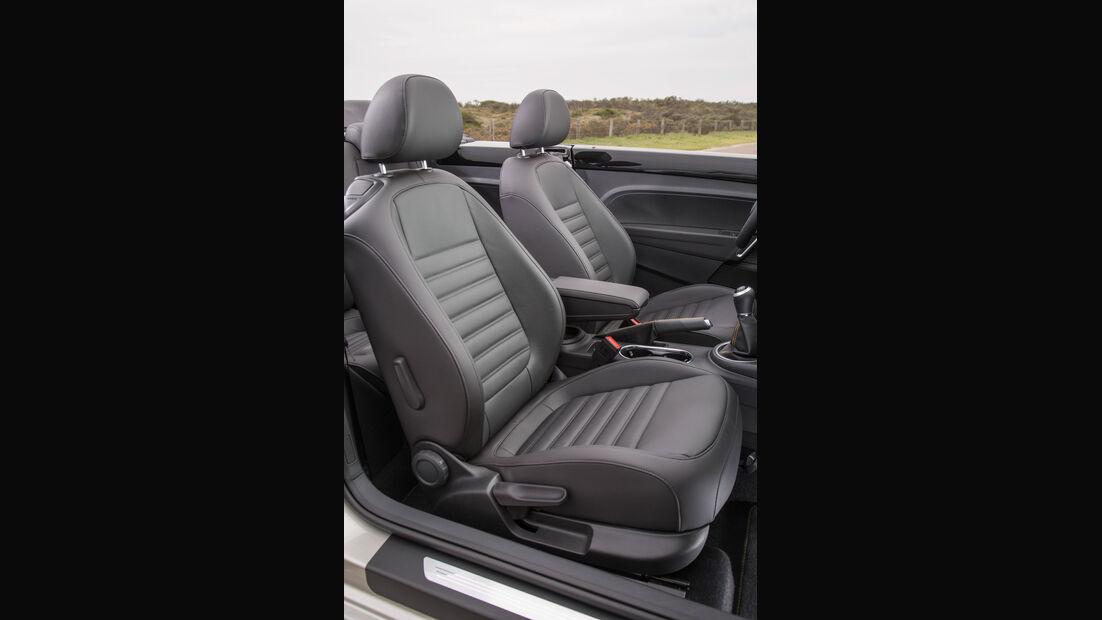 VW Beetle Dune Cabrio Ledersitze