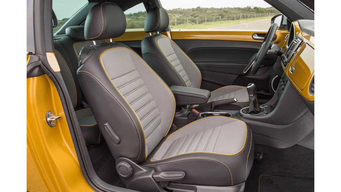 VW Beetle Dune Cabrio Stoffsitze