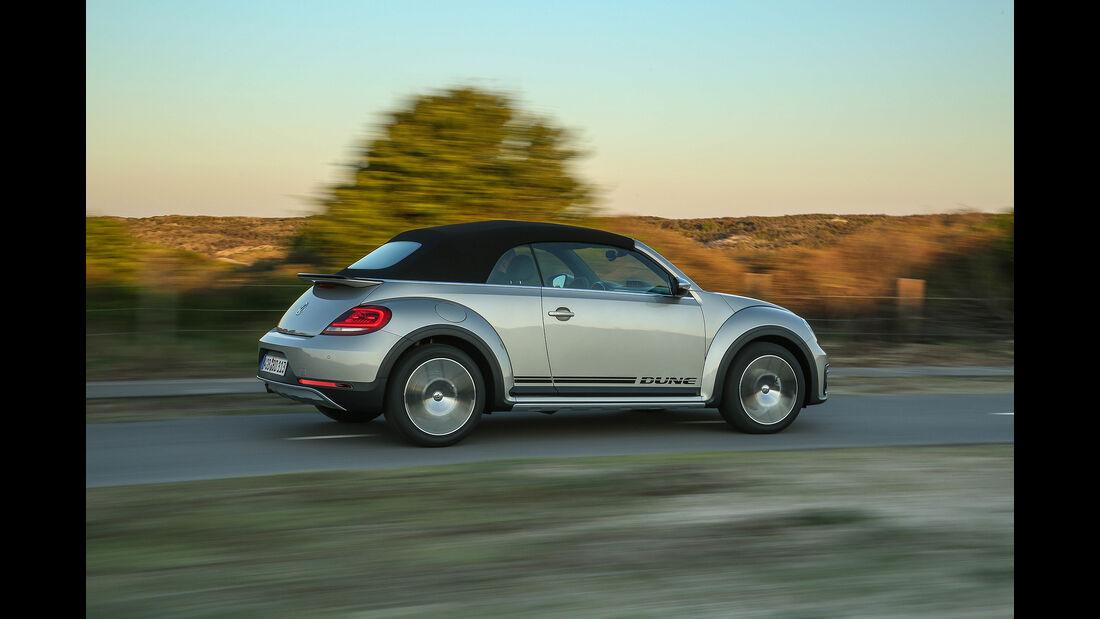 VW Beetle Dune Cabrio Verdeck geschlossen