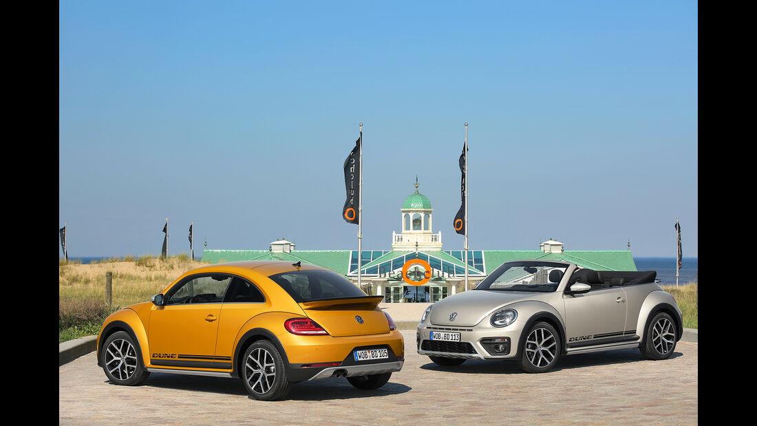 VW Beetle Dune Cabrio und Coupé