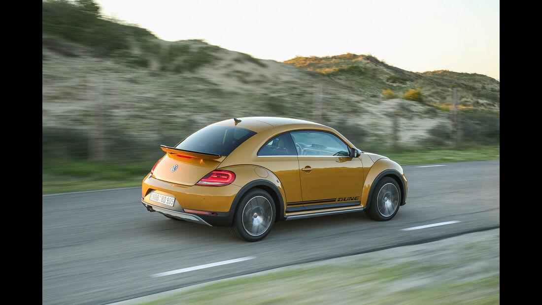 VW Beetle Dune Coupé hinten