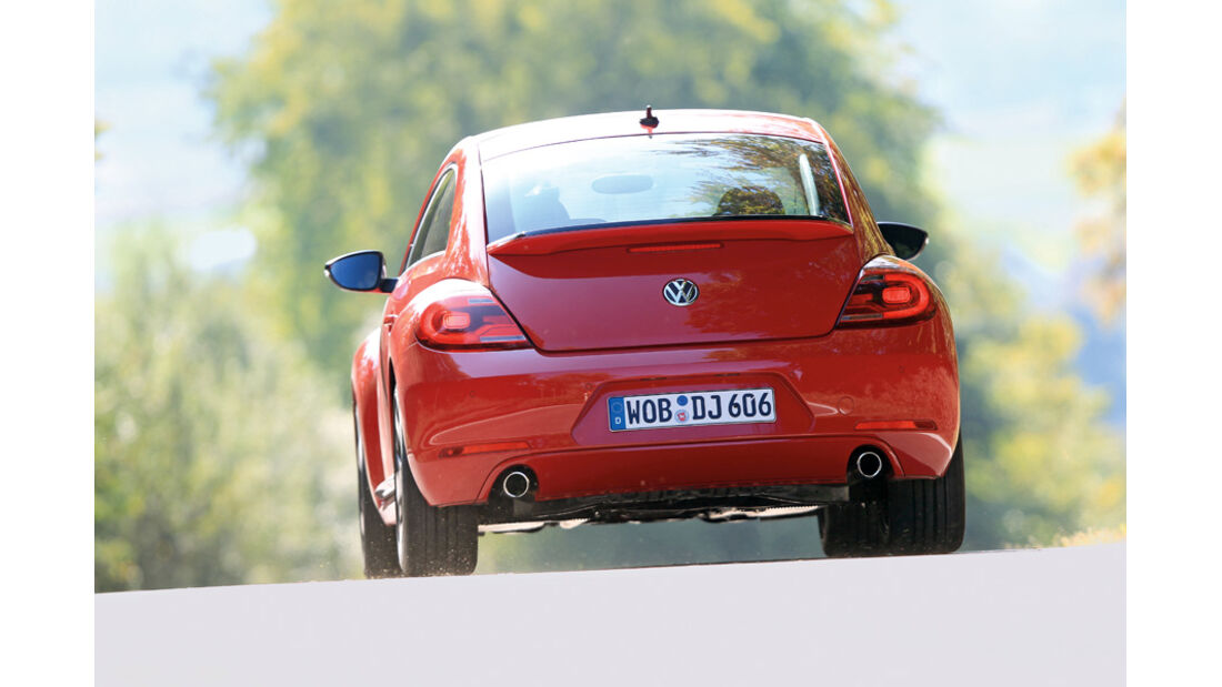 VW Beetle, Heck