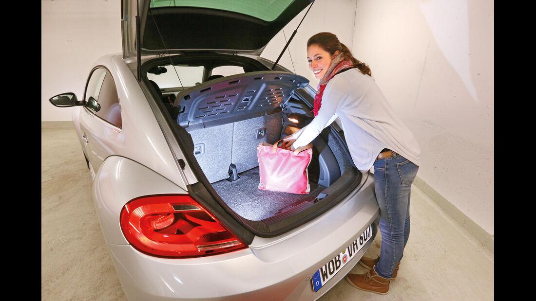 VW Beetle, Kofferraum