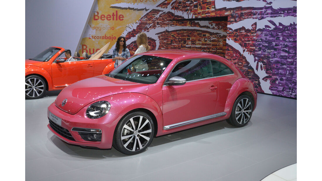 VW Beetle Pink Color Edition - New York Auto Show 2015