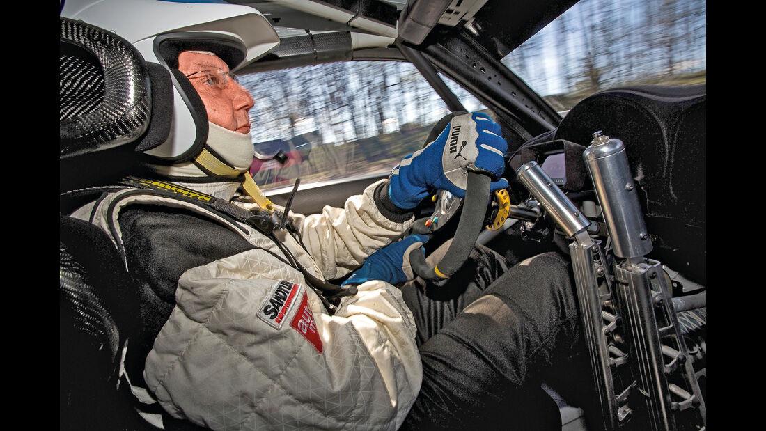 VW Beetle Rallycross, Cockpit