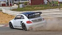 VW Beetle Rallycross, Heckansicht