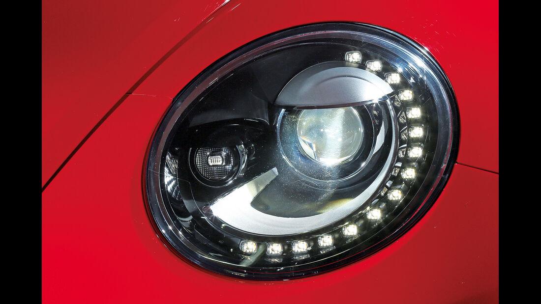 VW Beetle, Scheinwerfer