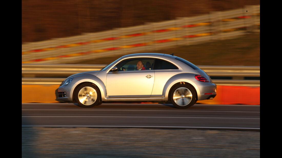 VW Beetle, Seitenansicht