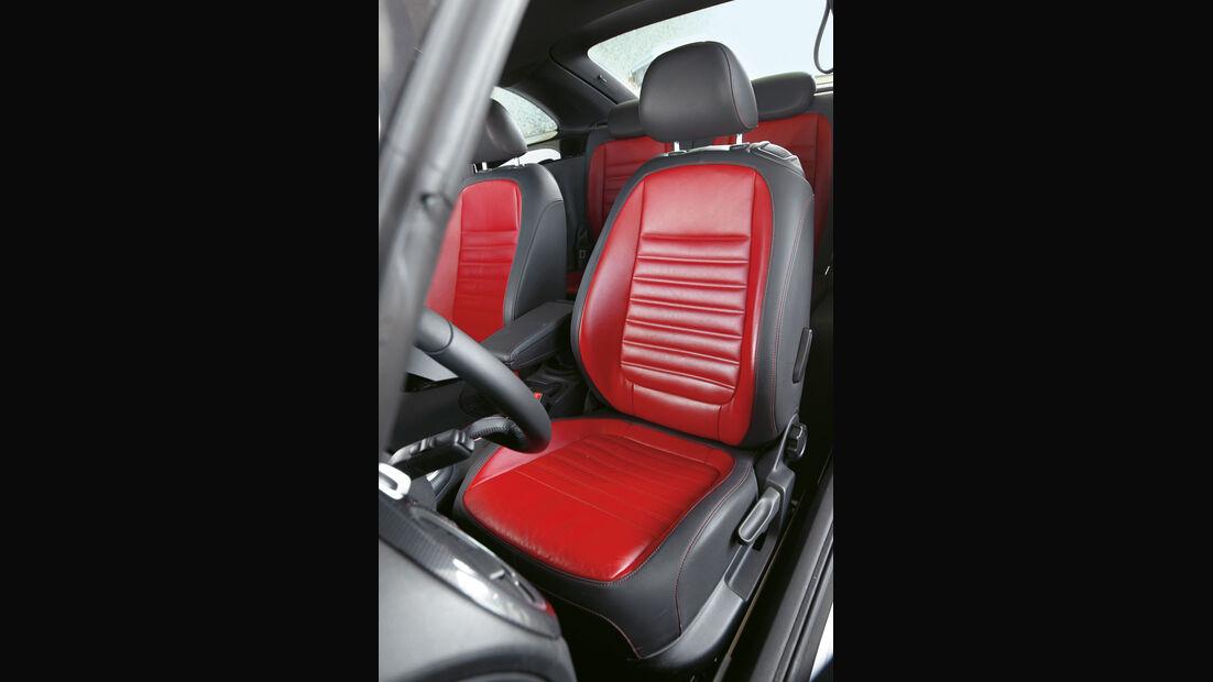 VW Beetle Sport, Sitze