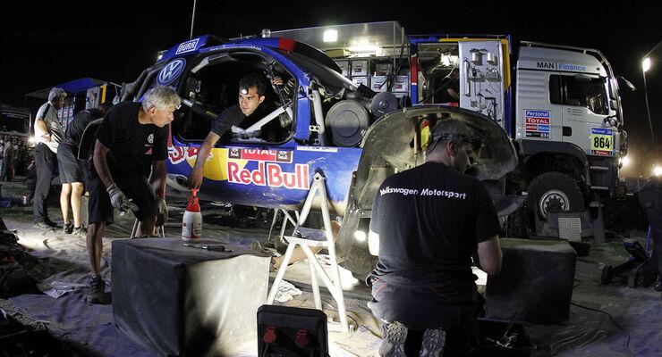VW Biwak - Rallye Dakar 2011