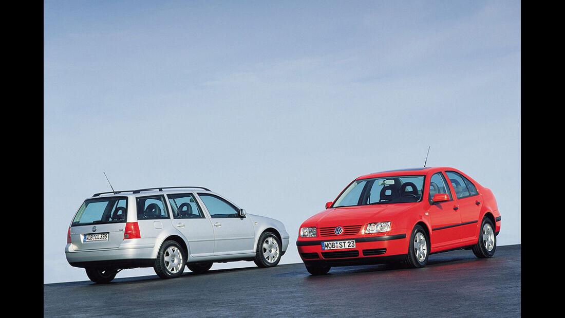 VW Bora Variant & Limousine