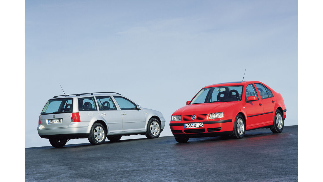 VW Bora und Bora Variant (1999)