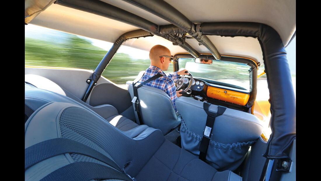 VW Buggy, Cockpit, Lenkrad