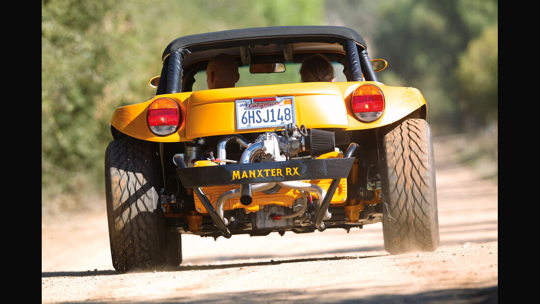 VW Buggy, Heckansicht