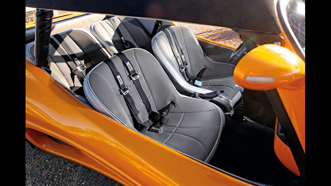 VW Buggy, Sitze, Innenraum
