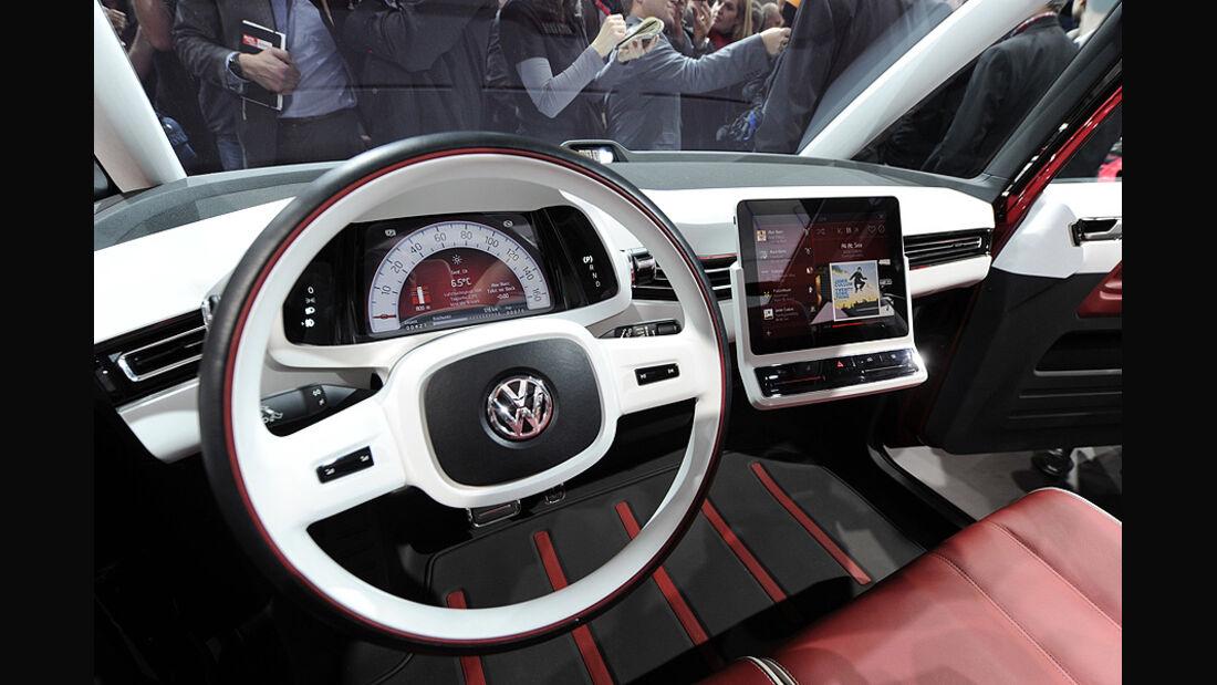 VW Bulli Genf 2011, Innenraum