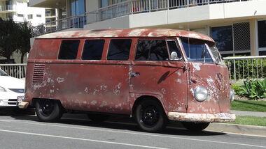 VW Bulli Rost Australien 2012