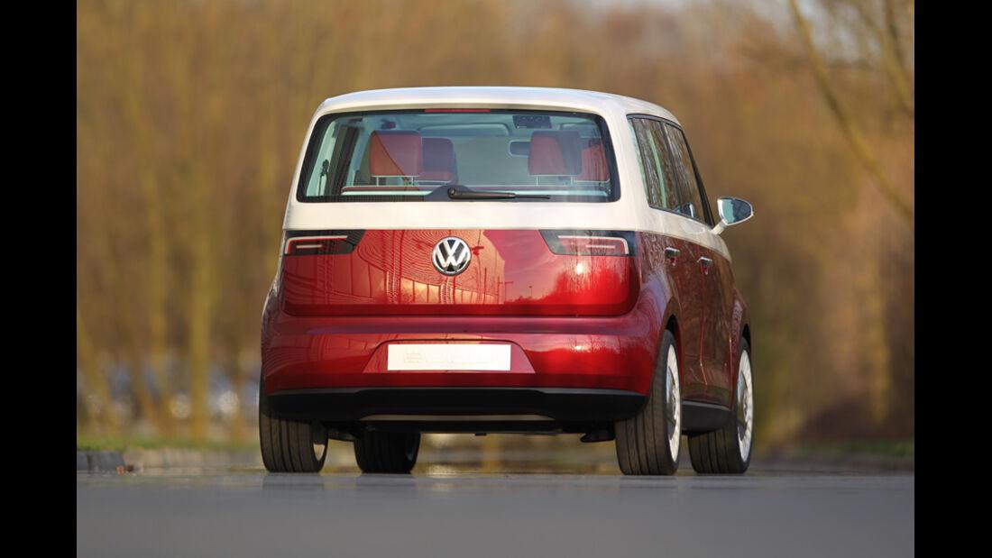 VW Bulli, Studie, Rückansicht
