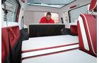 VW Bulli, Studie, Sitze, hinten, schlafen