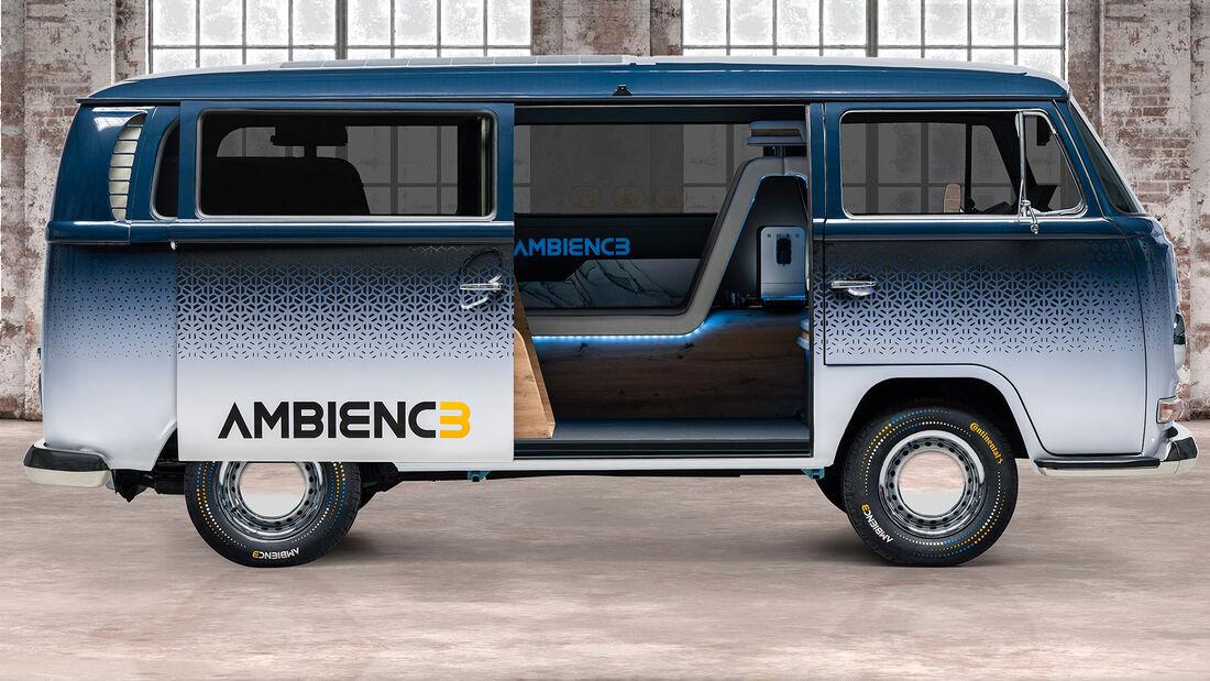 VW Bulli T2 Continental Ambienc3 Concept IAA München 2021