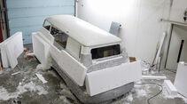 VW Bulli T2b Currywurst-Wagen, Kunst