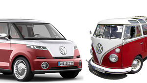 VW Bulli alt neu