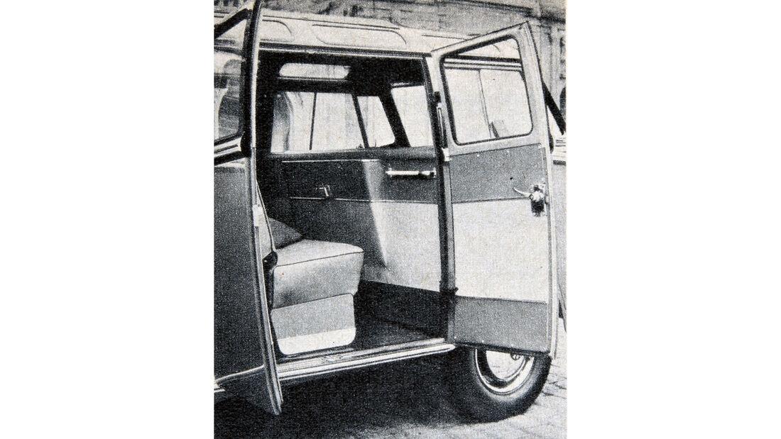 VW Bus T1 Achtsitzer Samba 75 Jahre ams