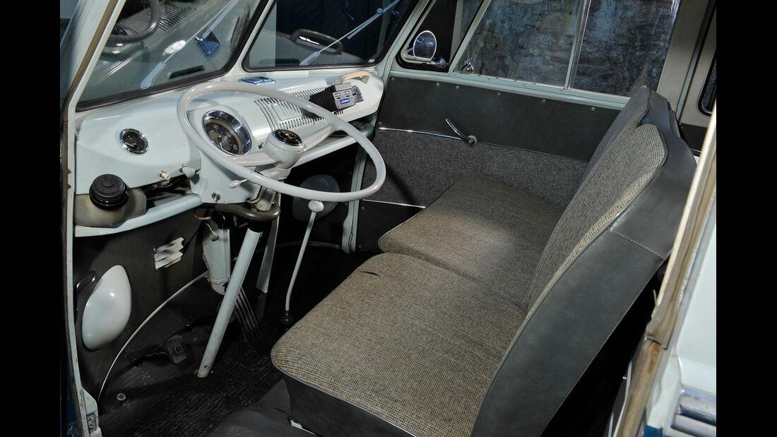 VW Bus, T1, Cockpit