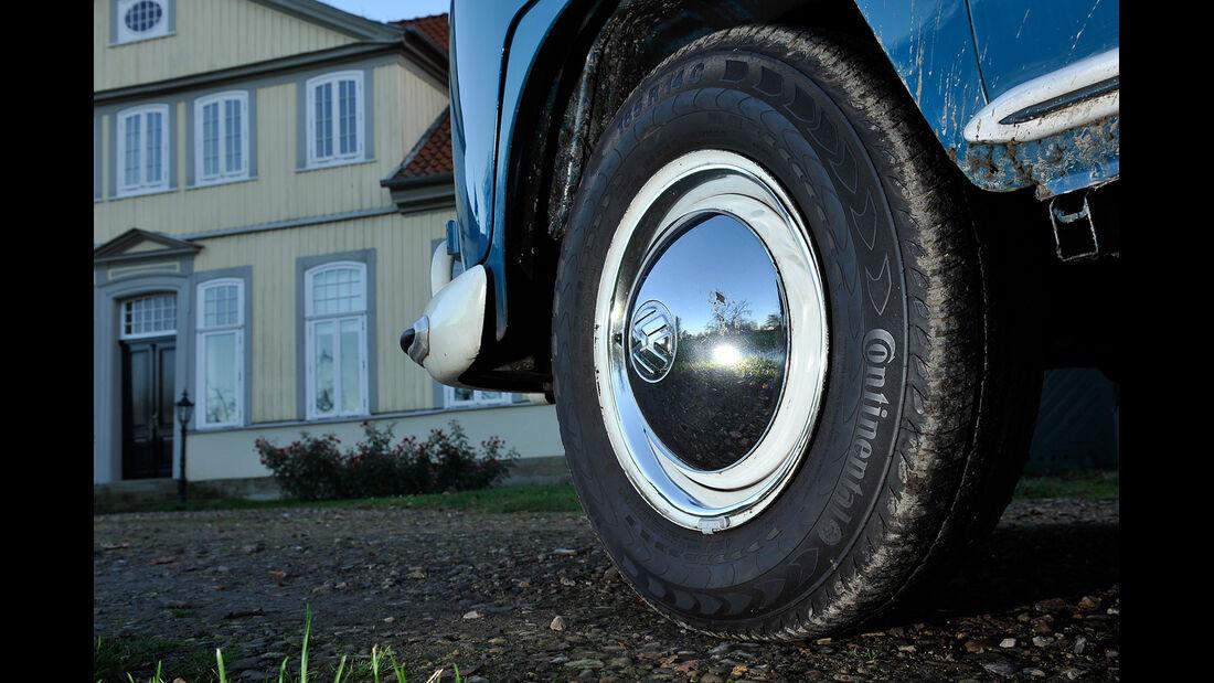 VW Bus, T1, Rad, Felge