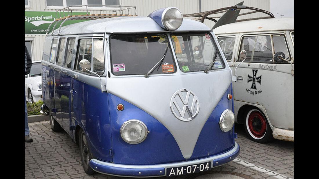 VW Bus T1 auf dem Maikäfertreffen