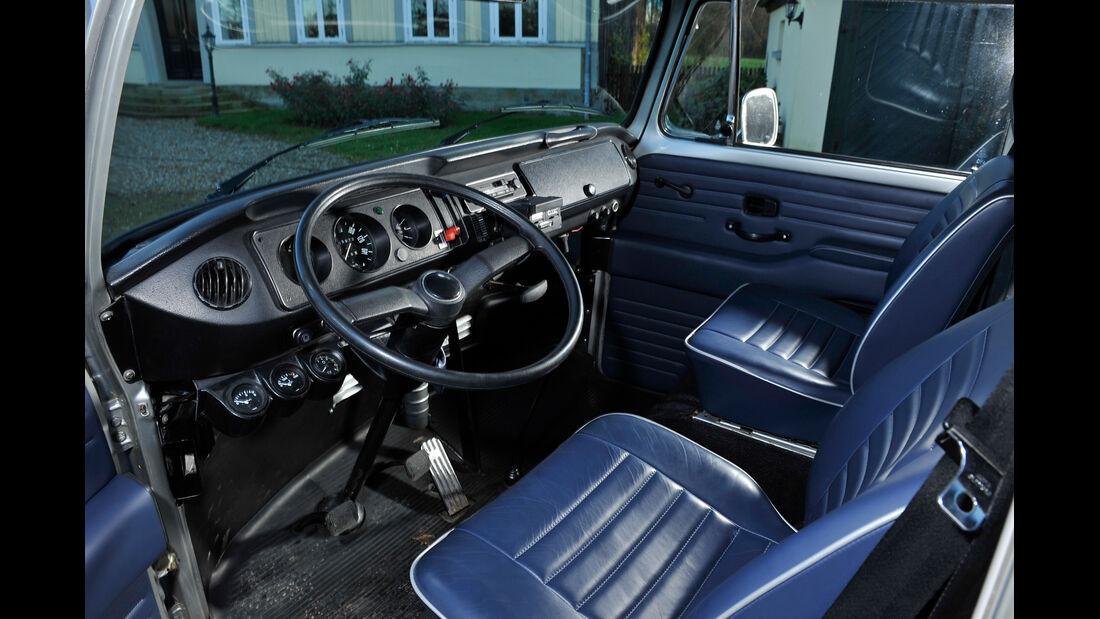 VW Bus, T2, Cockpit
