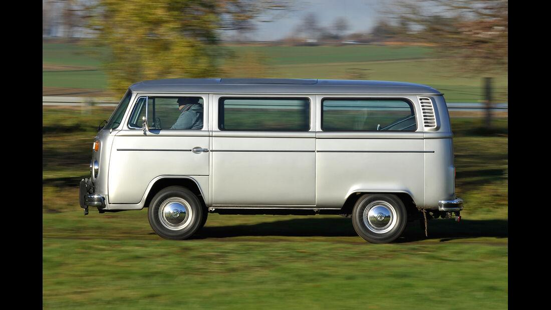 VW Bus, T2, Seitenansicht