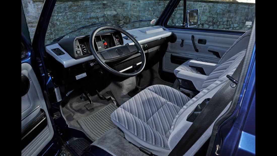 VW Bus, T3, Cockpit