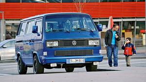 VW-Bus T3, Corrias, Frontansicht