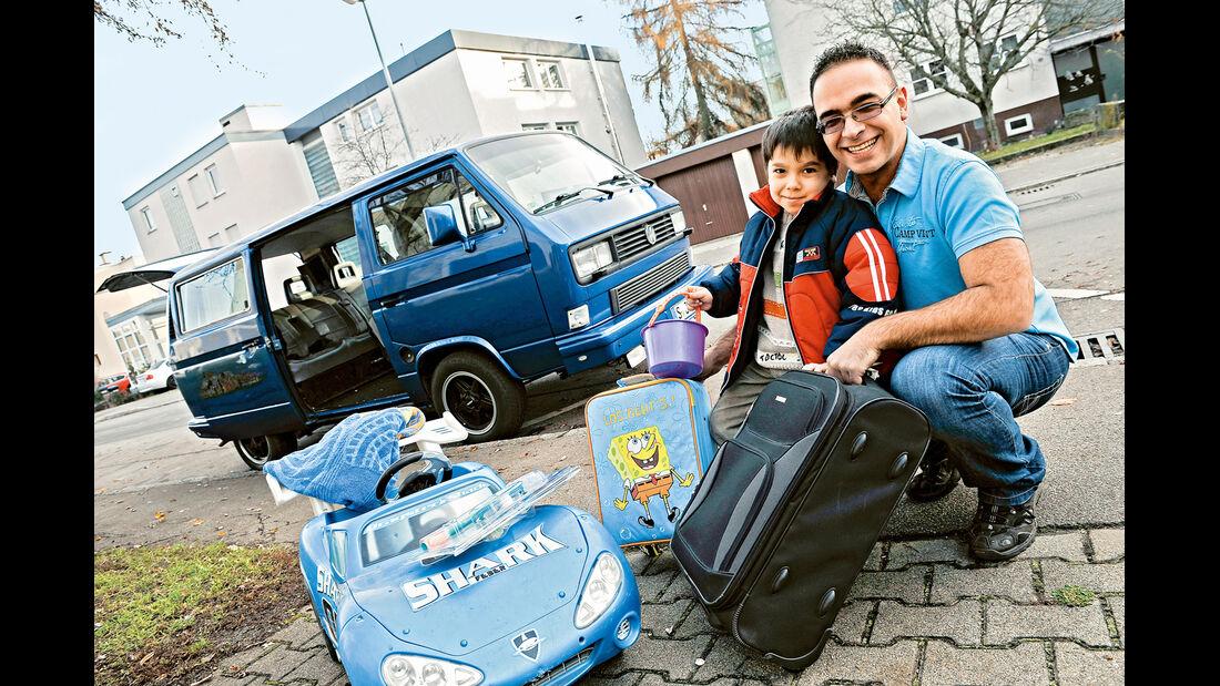 VW-Bus T3, Corrias, Seitenansicht