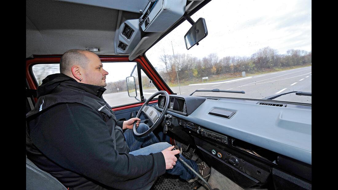 VW-Bus T3, Daniel Ecke, Cockpit
