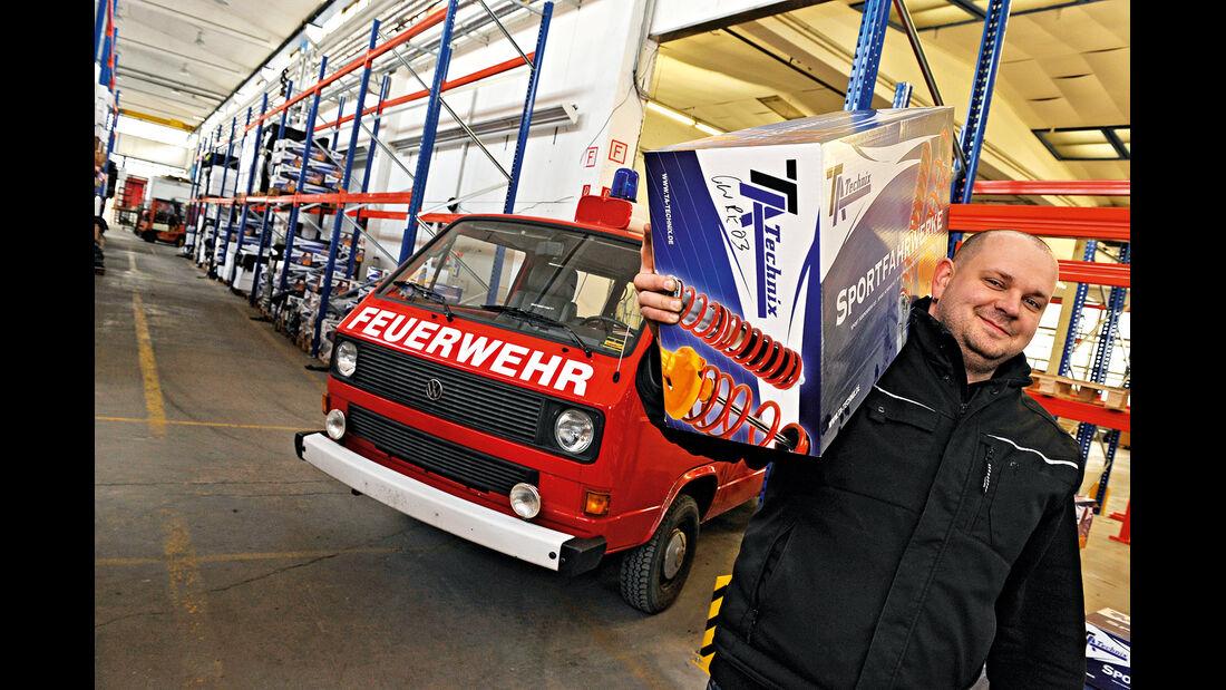 VW-Bus T3, Daniel Ecke, Feuerwehr