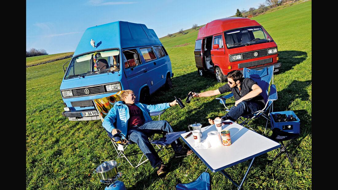 VW-Bus T3, Daniel Ehni,  Johannes Grimm, Frontansicht