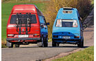 VW-Bus T3, Daniel Ehni,  Johannes Grimm, Heckansicht