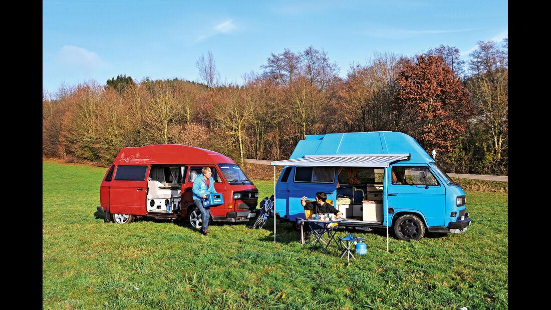 VW-Bus T3, Daniel Ehni,  Johannes Grimm, Seitenansicht