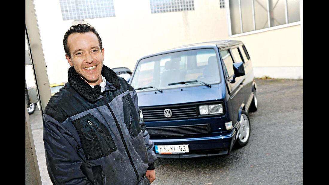 VW-Bus T3, Gunter Liehr, Frontansicht
