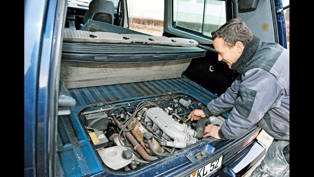VW-Bus T3, Gunter Liehr, Motor