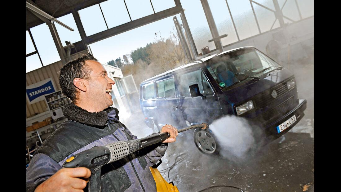 VW-Bus T3, Gunter Liehr, Wachen