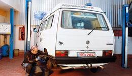 VW Bus T3, Heckansicht